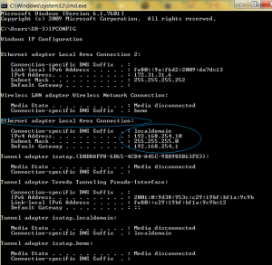 DHCP IP Assigned